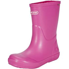 Viking Footwear Classic Indie - Botas de agua Niños - rosa